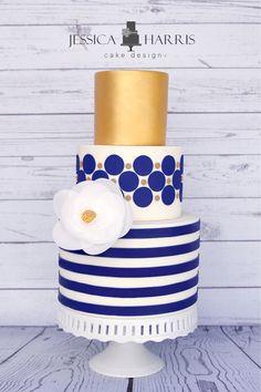 Big & Tiny Dot Cake Template - 2 Designs - Jessica Harris Cake Design