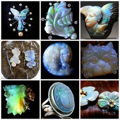 yourgreatfinds' favorite carved black opals.
