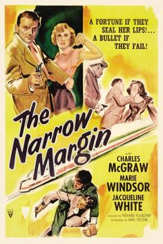 the narrow margin a really good low budget film noir thriller, one of my favorites. Mahershala Ali, Classic Film Noir, Classic Films, Classic Tv, Classic Movie Posters, Film Posters, Cinema Posters, Kingsman, Old Movies