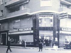 galerias preciados en plaza cetina de murcia