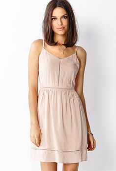 Prairie Nights Dress   LOVE21 - 2000072025 I love this pink color. Perfect for summer!