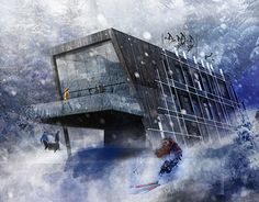 """Check out new work on my @Behance portfolio: """"Sports and Recreational Centre in Ogrodniczki - Award"""" http://be.net/gallery/59717537/Sports-and-Recreational-Centre-in-Ogrodniczki-Award"""