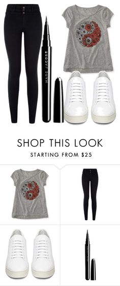 """""""Untitled #1353"""" by perbhaatkhowaja on Polyvore featuring Aéropostale, Off-White, Marc Jacobs, women's clothing, women, female, woman, misses and juniors"""