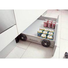 Kit pour la réalisation d'un tiroir sous caisson - Aménagement pour meuble de cuisine