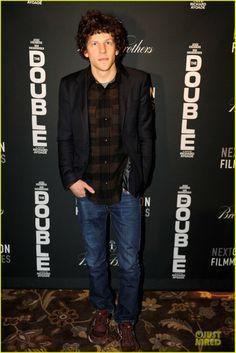 Jesse Eisenberg at the Sundance screening of THE DOUBLE