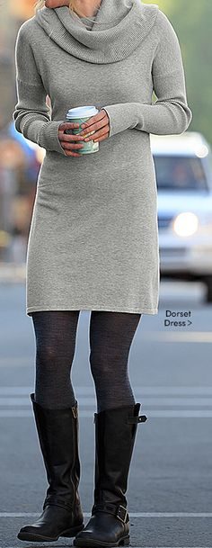 Sweater dress from Athleta