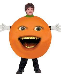 Child's Annoying Orange - Orange Costume | Girls Costumes Humorous Halloween Costumes