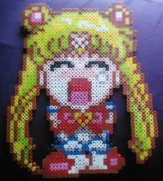 Sailor Moon perler Bead Sprite by LunaAndEvesBoutique