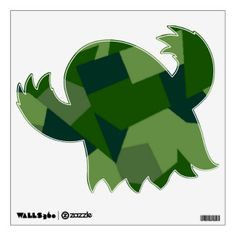 Grassy Camo Custom Wall Decal Art