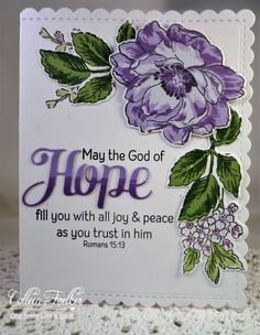 One Smile lifts A Spirit: Just Us Girls challenge # 368 ~ Encouragement Altenew: Beautiful Day PTI: Inspired Hope Altenew Cards, Stampin Up Cards, Handmade Birthday Cards, Greeting Cards Handmade, Verses For Cards, Mom Cards, Christian Cards, Flora, Heartfelt Creations