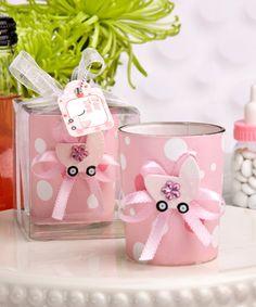 Latas decoradas para baby shower | Manualidades para Baby Shower