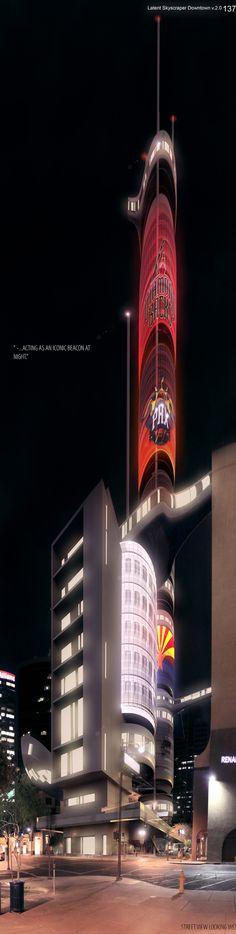 Latent Skyscraper