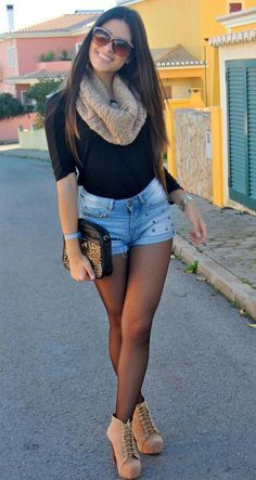 Cute outfit,  dig the little boots