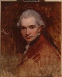 Geroge Romney  1734-1802  One of the great painters of all time, he was famed for his portraits as well as painting Emma Hamilton, the mistress of Horatio Nelson, many times.  (Are you a RAPper or a RAPscallion? http://www.regencyassemblypress.com)