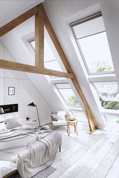 3 Appealing Tips: Natural Home Decor Bedroom Design Seeds natural home decor rustic house.Natural Home Decor Earth Tones Rugs natural home decor bedroom living rooms.Natural Home Decor Living Room. Attic Bedroom Decor, Attic Bedroom Designs, Attic Bedrooms, Attic Design, Bedroom Loft, Bedroom Ideas, Attic Bathroom, Cozy Bedroom, Loft Design