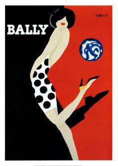 Bally Print by Bernard Villemot from AllPosters.com