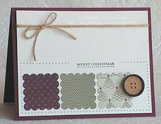 Clean & simple card at Rainy Day Creations. This card layout can be used for any occasion.