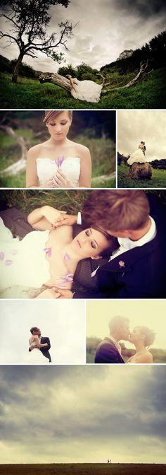 Romantische #Posings für #Hochzeitsfotos