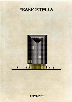 Gallery - ARCHIST: Illustrations of Famous Art Reimagined as Architecture - 20 - www.salfo.it -  mauro@salfo.it +39.339.78.54.440