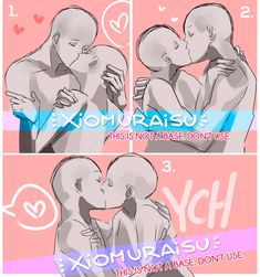 Marvelous Learn To Draw Manga Ideas. Exquisite Learn To Draw Manga Ideas. Couple Poses Reference, Drawing Reference Poses, Drawing Tips, Drawing Techniques, Kissing Reference, Drawing Ideas, Ship Drawing, Drawing Base, Manga Drawing