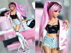 (4arllin) Tags: bjd mnf minifee celine fairyland alpaca wig vingseyes tan Beautiful Barbie Dolls, Pretty Dolls, Cute Dolls, Doll Wigs, Bratz Doll, Doll Clothes Barbie, Barbie Dress, Barbie Mode, Barbie Fashionista Dolls