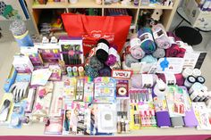 Craft Mania Giveaway  Gifted by Red Heart, Polyform, Leisure Arts, AQS, Uchida, Sizzix Enter to win all the daily prizes in one grand prize Craft Mania Giveaway! The deadline to enter is March 31, 2015 at 11:59:59 p.m. Eastern time.