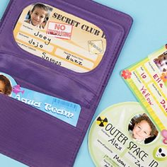 Make-believe ID Cards for Kids (Printable Activity for Kids)