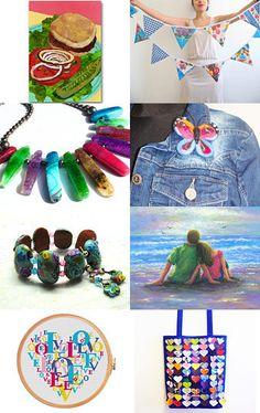 Summer HOT and BRIGHT by Mike and Diane Mudd on Etsy--Pinned with TreasuryPin.com