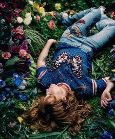 The Alchemist: Florence Welch by Drew Jarrett for Porter Magazine Summer 2016 - Gucci Pre-Fall 2016