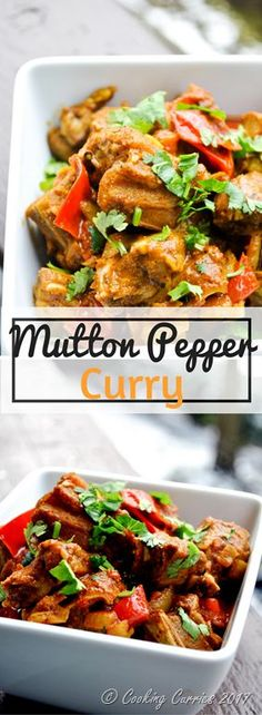 Kerala Style Mutton Pepper Curry