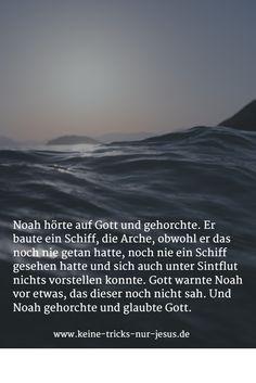 Was haben wir mit Noah zu tun?