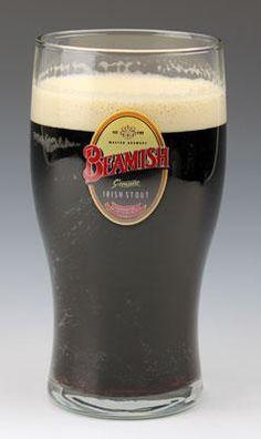 Beamish Irish Stout Pint Glass