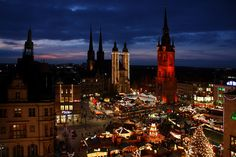 Halle (Saale) - one of the greatest towns in the world