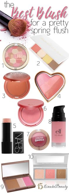 Ten Great Blushes For A Pretty Flush