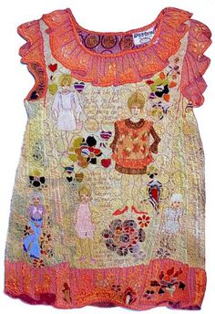 Val Jackson. When Are You Going to Grow Up?. I like the idea of stitching a design on to a apiece of clothing whether it is wearable or not