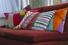 Creative Workspace – Gerty Brown Trading Colourful cushions