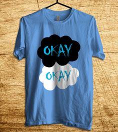 The Fault In Our Star Okay Okay T Shirt Men T Shirt by MalaAkfa, $18.00