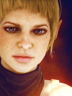 Sera, used as my Female Rebel Sepan Pilot OC in Star Wars: X-Wing Alliance