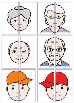 Kindergarten Learning, Preschool Learning Activities, Preschool Worksheets, Classroom Activities, Preschool Activities, Activities For Kids, Toddler Classroom, Body Preschool, Family Theme