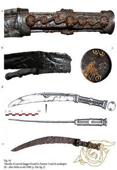 ENDA - Arme şi piese de harnaşament descoperite la Bulbuc Sword Tattoo, Ancient Greece, Swords, Archaeology, Metal Working, Mythology, Celtic, Weapons, Old Things