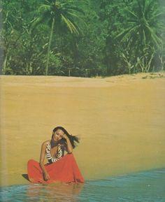 David Bailey for Vogue UK, 1975