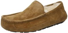 UGG Australia Men's Ascot Suede Slippers, 10, Chestnut UGG www.amazon.com/...