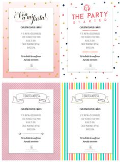 Invitaciones originales para cumpleaños #invitacionesparacumpleaños #invitaciones #invitacionesinfantiles