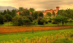 Castle of Spessa - Italy - Capriva del Friuli by Massimo Coloso on 500px