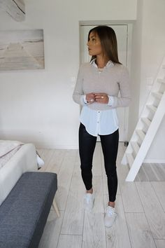 white shirt outfit for men ; white shirt outfit for men formal ; white shirt outfit for men casual Casual Work Outfits, Mode Outfits, Classy Outfits, Chic Outfits, Casual Dresses For Women, Spring Outfits, Clothes For Women, Teen Outfits, Cute Dresses