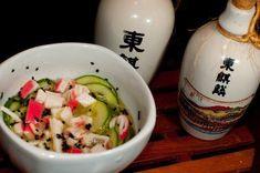 Sunomono de kani, Receita Petitchef Grains, Rice, Eggs, Food And Drink, Breakfast, Sweet, Show, Cooking, Ideas