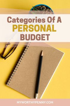If you are new to budgeting then you might be wondering what are the categories that you should include in your monthly budget. Here are the categories for a personal budget that you should have in your budgeting worksheet. Budgeting for beginners. Budgeting System, Budgeting Finances, Budgeting Tips, Envelope Budget, Monthly Budget Template, Budget Sheets, Setting Up A Budget, Budget Binder, Budgeting Worksheets