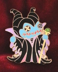 Scrump as Maleficent Fantasy Lilo and Stitch Disney Pin