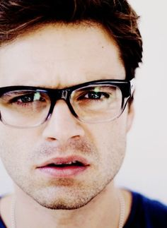 sebastian stan with glasses - Google Search