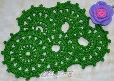 Ленточное кружево №3 | Crochet by Ellej | Crochet by Ellej | Вязание крючком от Елены Кожухарь